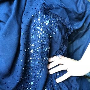 Beaded pashmina—BHLDN and Adrianna Pappell